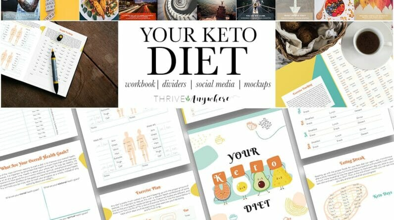 Your Keto Diet workbook by Thrive Anywhere Review